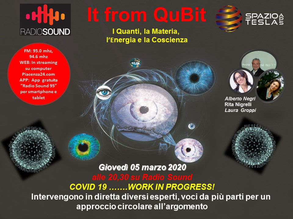 Locandina It from Qubit 05 MARZO 2020