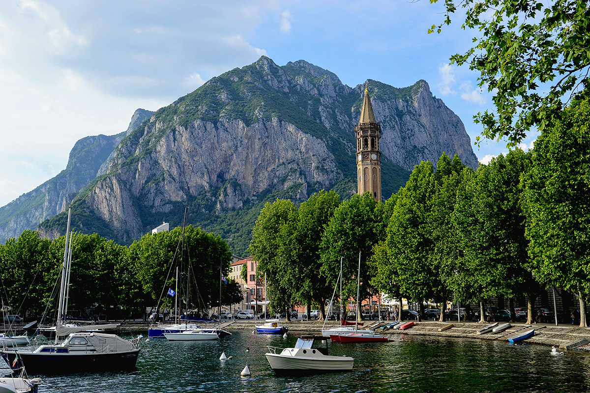 Malgrate lake como lecco