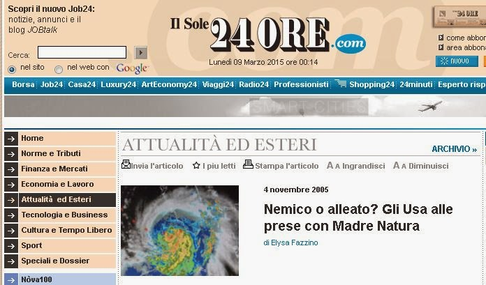 Sole24Ore Chemtrails